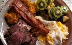 Nutrition - Breakfast of choice.